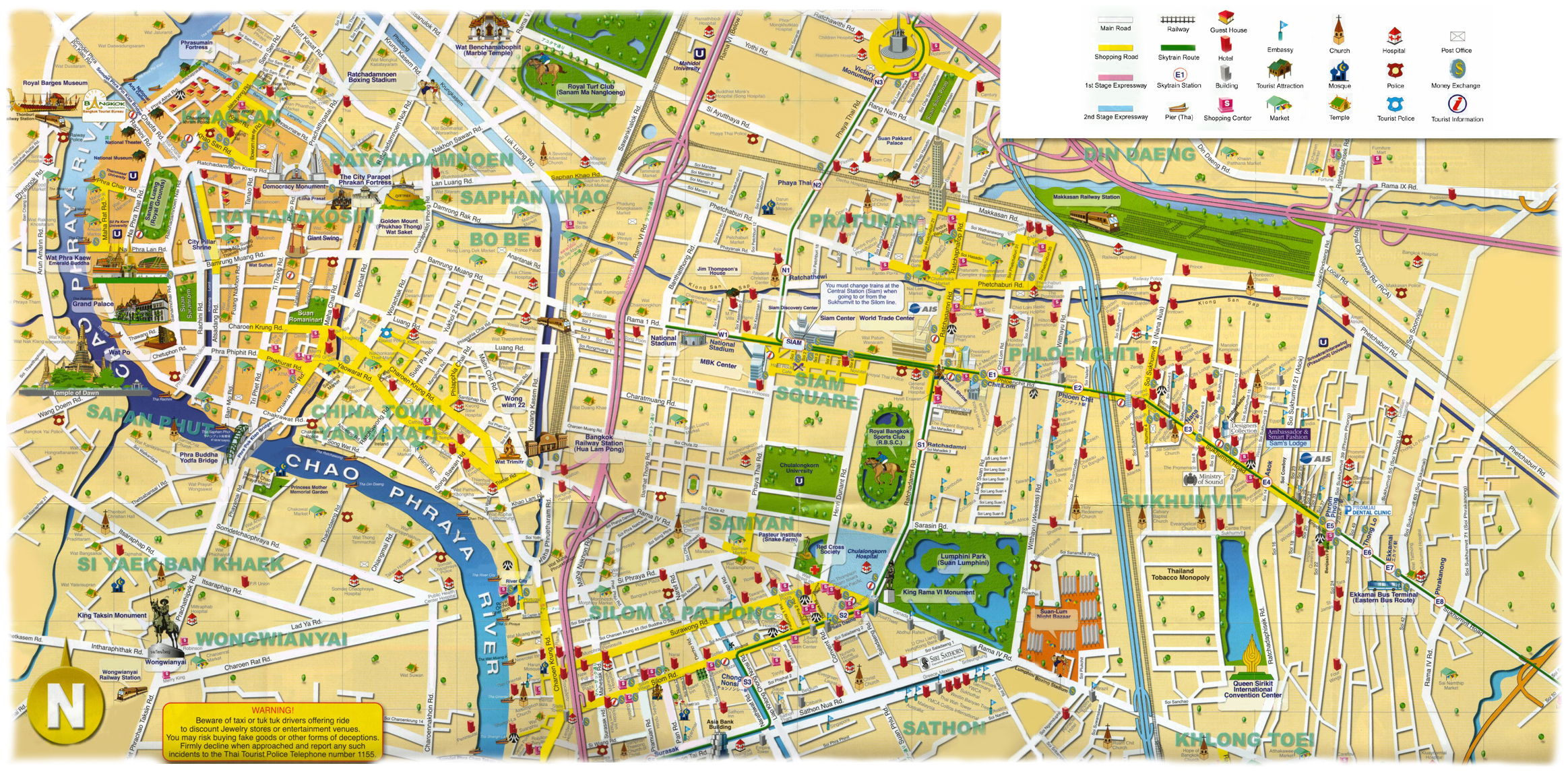Thailand - Maps